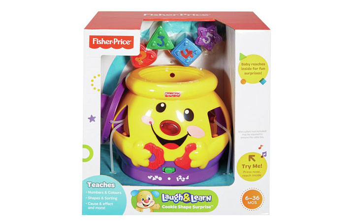 Fisher Price laugh and learn what is included