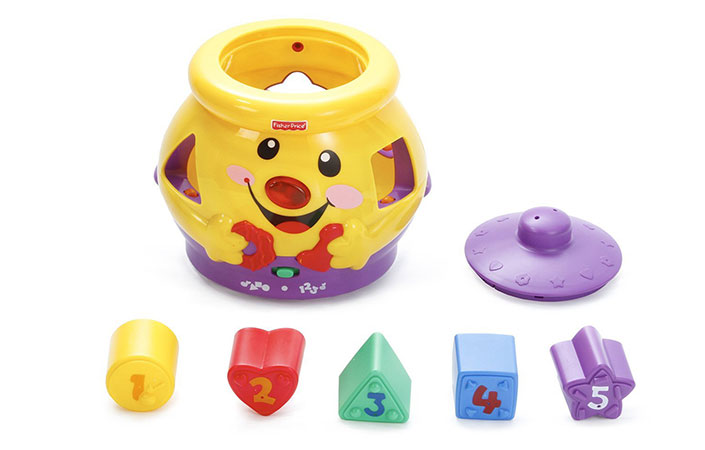 Fisher Price laugh and learn cookie jar unboxed