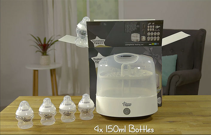 Tommee Tippee complete feeding kit opening box