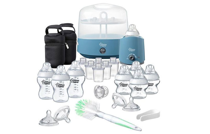 Tommee Tippee closer to nature complete feeding kit what is in the box