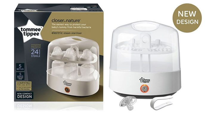 Tommee Tippee electric steriliser box and review