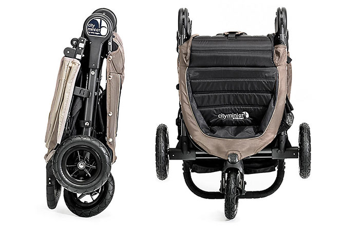 Baby Jogger City Mini GT folded up