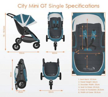 Baby Jogger City Mini GT specifications