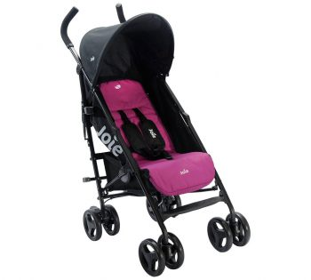 Joie Nitro Stroller review in black and purple