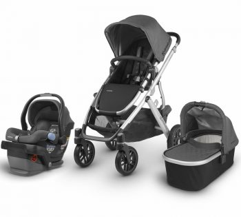 The Uppababy Cruz travel system review in black