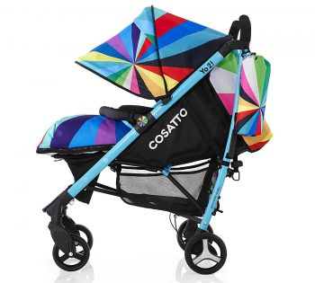 Multi colour cosetto yo 2 pushchair best price