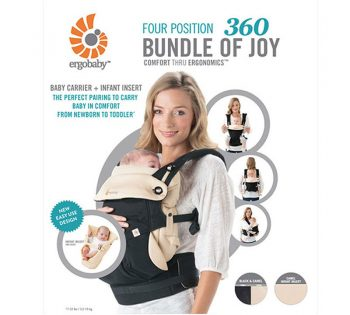 Functions of the Ergobaby 360 Bundle of Joy Baby Carrier