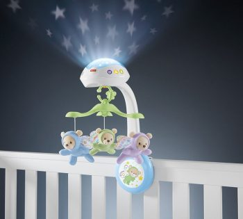 Fisher Price Butterfly Dreams projecting onto wall