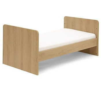 Mamas and Papas Rocco 3 cot bed with sides removed